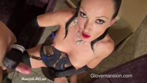 Luxury Satin Handjob – GloveMansion