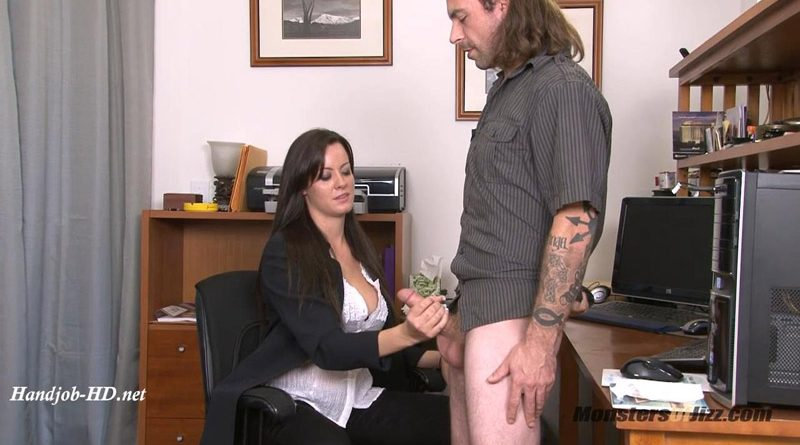 Mandy Haze Handjob – Monsters Of Jizz