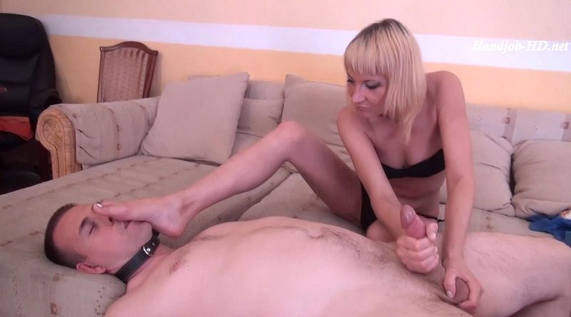 Ursula – Learn Your Place – Handjob With Feet On Face, Ball Squeezing And Milking – Euro-Femdom Elite