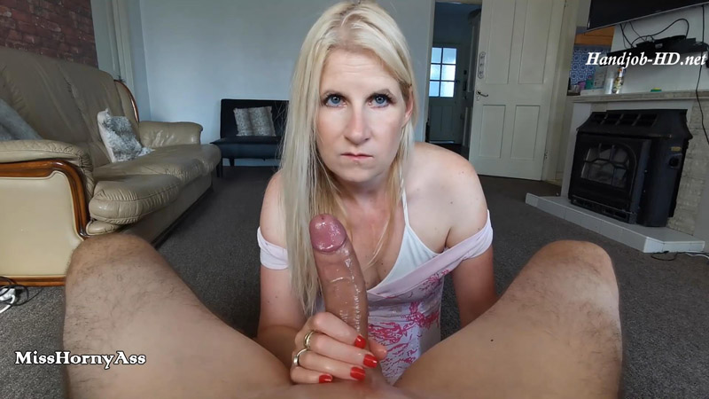 BJ and Oiled Handjob – MissHornyAss