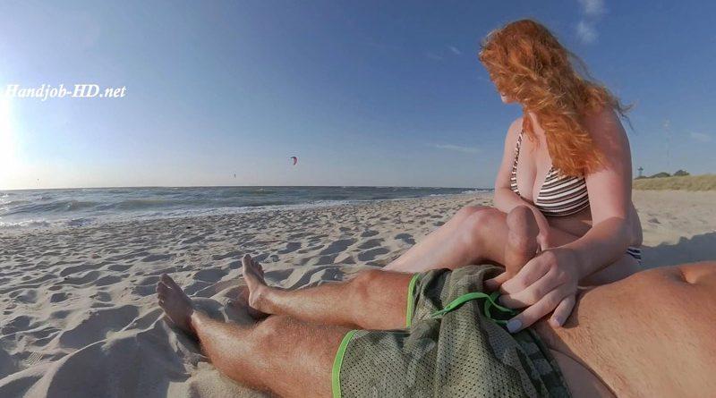 Big Tits Ginger Ruined Public Beach Cum – GingerAle23