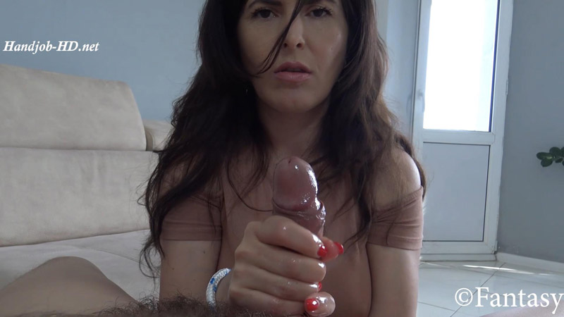 Bondaged Oily Handjob – Fantasy