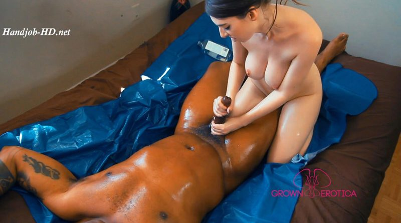 Erotic Oil Boob And Handjob – Grown Erotica