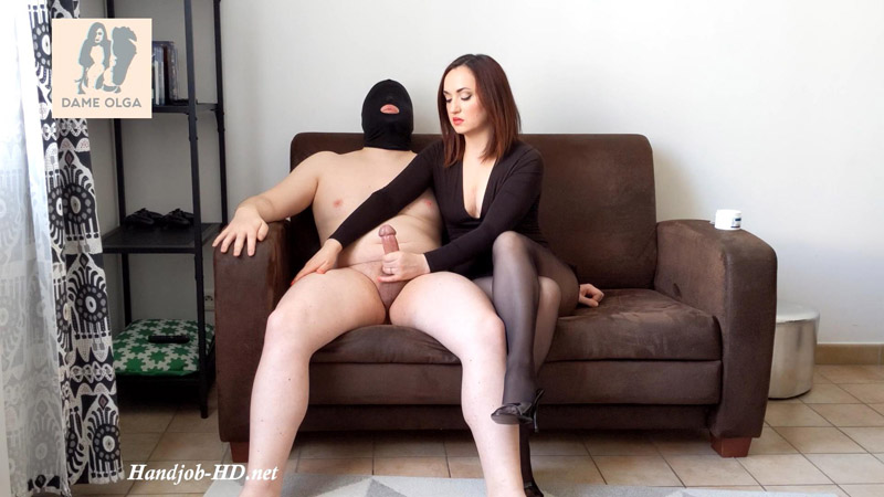 Ruined Orgasm Edging Handjob Ruined Four Times in a Row! – Dame Olga's Fetish Clips