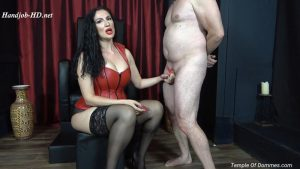 Feeling Domina Christine hand on your disgusting worm is a privilege – Mistress Alexandra