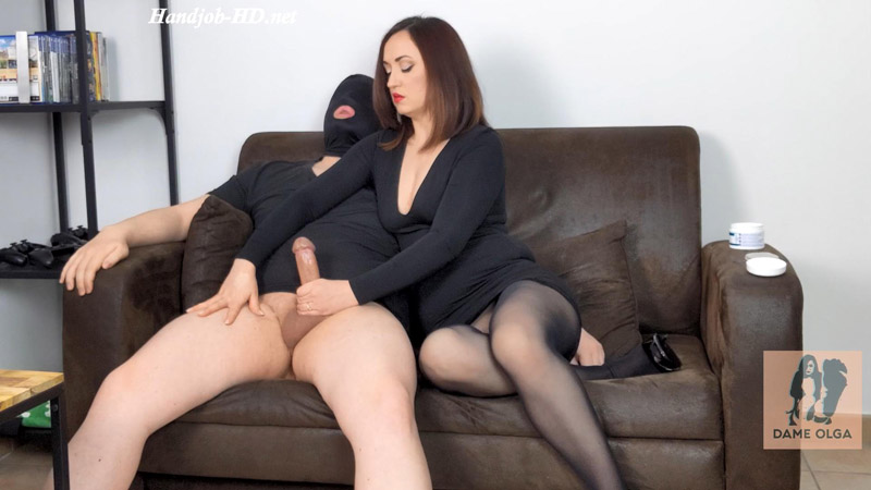 Cock Milking Handjob Three Ruined Orgasms to Milk My Hubby's Cock Until the Last Drop – Dame Olga's Fetish Clips