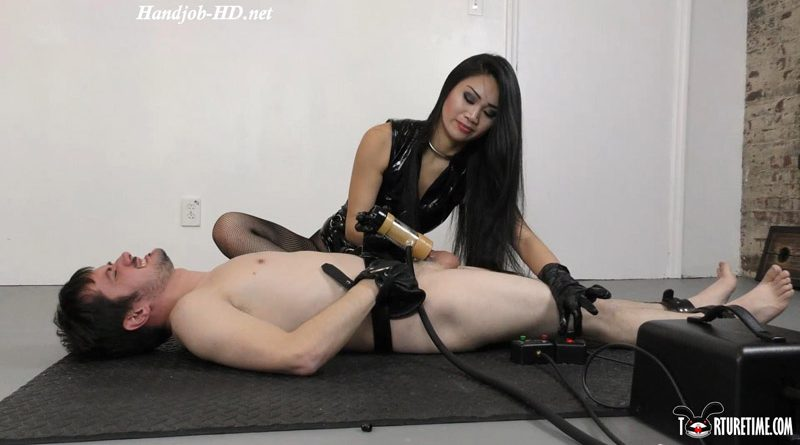 Katsura Breaks In Her New Toy With Milking – Featuring Katsura Strykes & Fluffy – Torture Time