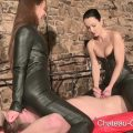 Leather Smothered and Cum – Kinky Leather Clips