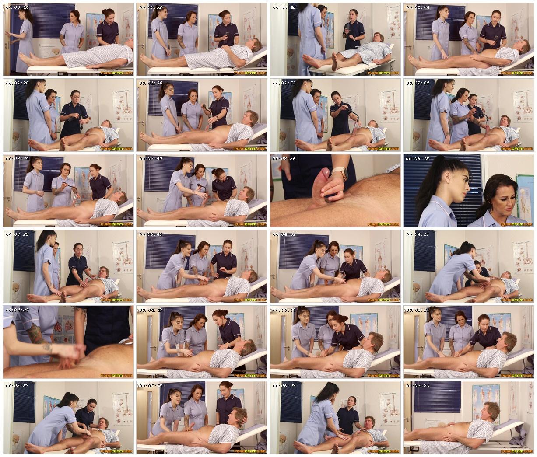 Enlargement Clinic – Pure CFNM – Belle O'Hara, Jordanna Foxx, Shay London_scrlist