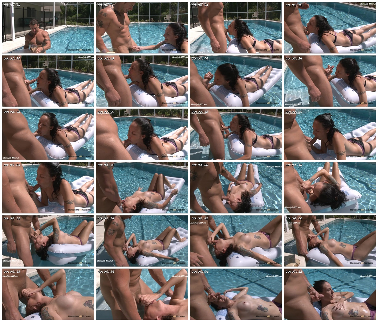 Blowjob in the Pool – Monsters Of Jizz_scrlist