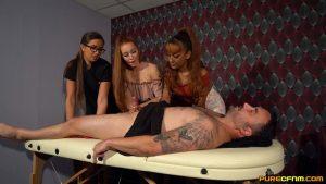 Early Massage – Pure CFNM – Amber Green, Bluelah, Lara Lee