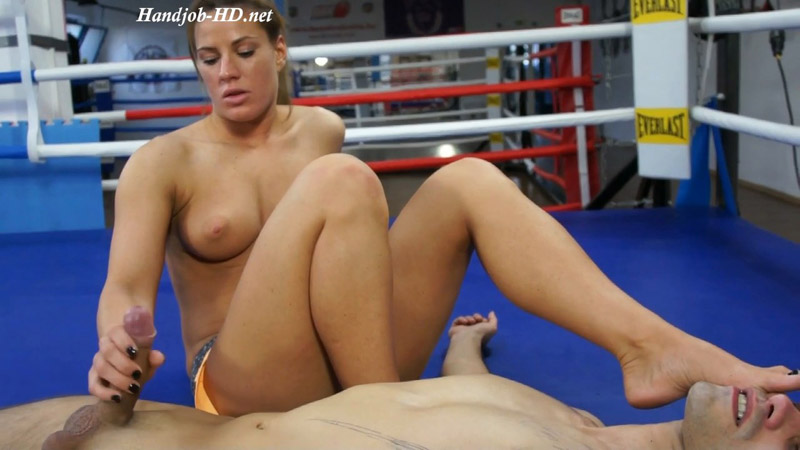Ilona - Milked Loser - The Dirty Wrestling Pit!