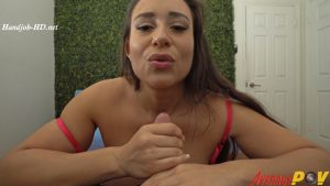 Carmela Clutch Gives Sloppy Handjob – JackSterling