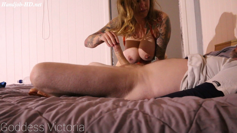 Happy Edging Handjob – Tease and Denial Extreme – Cruel Seductress – Goddess Victoria