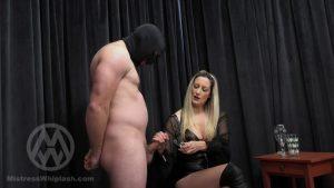 Slave drinks spit and cum for Mistress Nikki WL1541 – Mistress Nikki Whiplash