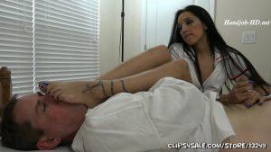 Stefania Mafra in Foot Smelling Handjob – Foot Fetish by Rootdawg25