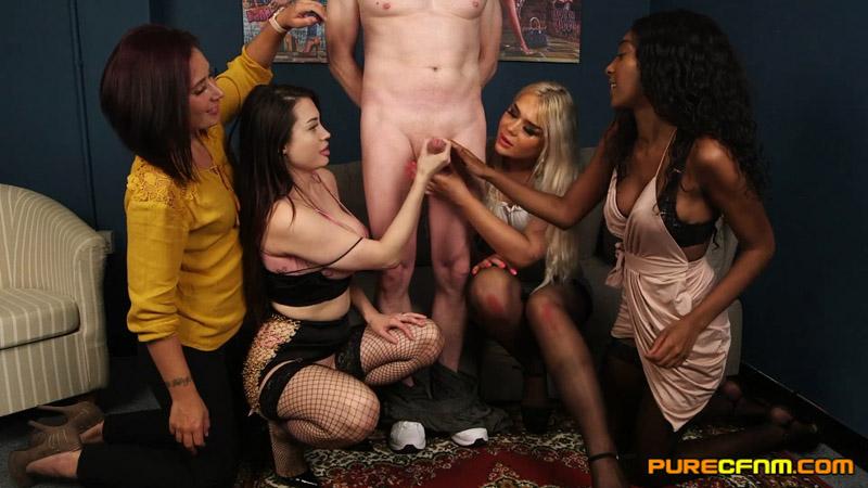 The Lioness' Den – Pure CFNM – Asia Rae, Belle O'Hara, Gabriella Knight, Gina Varney