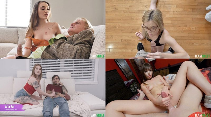 Best Handjobs – TeamSkeet – Lola Fae, Riley Reid, Sera Ryder and Alona Bloom