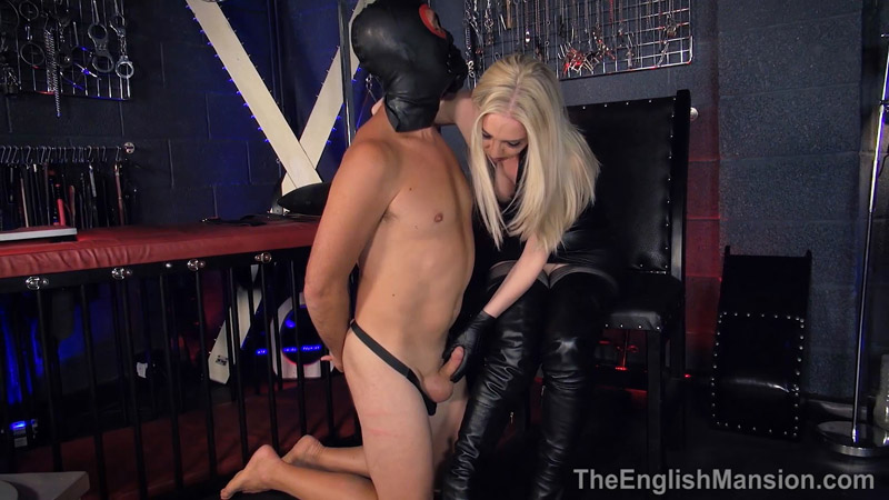 Leather Indoctrination – The English Mansion – Mistress Sidonia