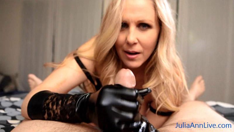 Cum on My Gloves! – Julia Ann