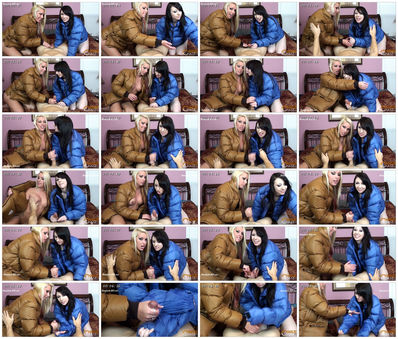 Dakota & Cherry POV Puffy Jacket Handjob – Charlees Adventures – Dakota Charms, Cherry Morgan_scrlist