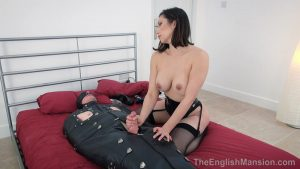 Leather Sack Milking – The English Mansion – Mistress Terra