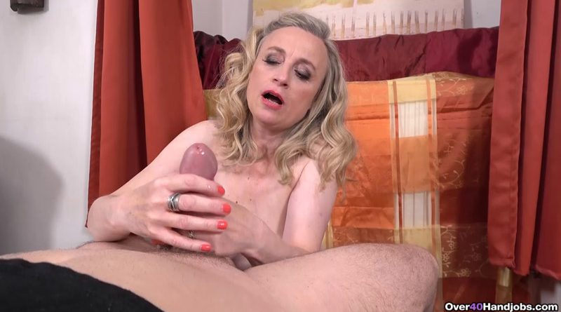 POV Granny Cock Milking! – Over 40 Handjobs