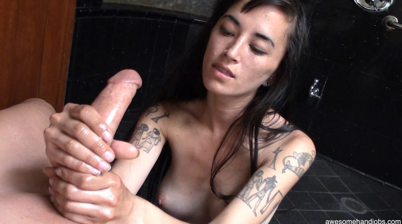 Sexy Loving Sweetheart Makes My Cock Explode Hard – Awesome Handjobs