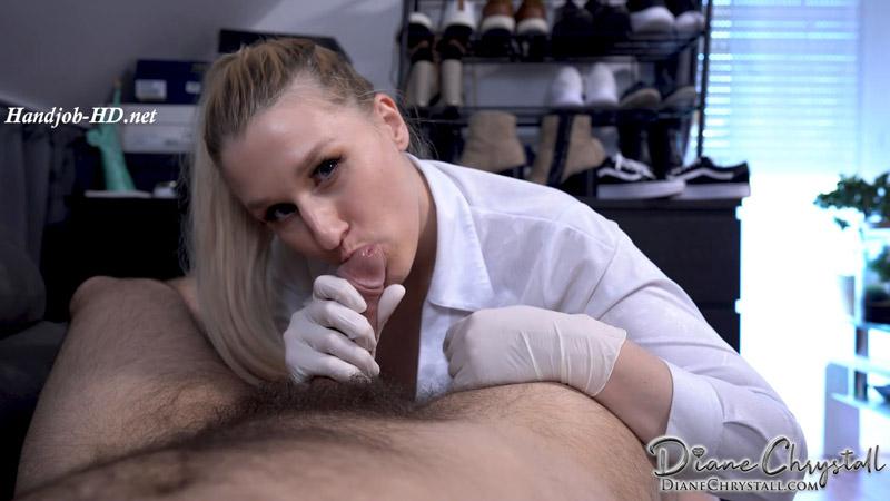 Bosslady Latex Handjob Punishment – Diane Chrystall