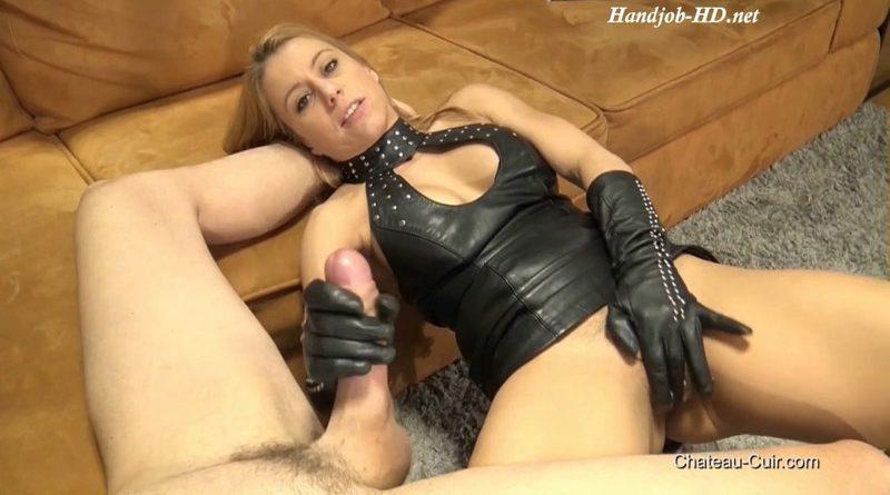 Cum On Nikki's Leather Dress – Kinky Leather Clips – Nikky Thorne