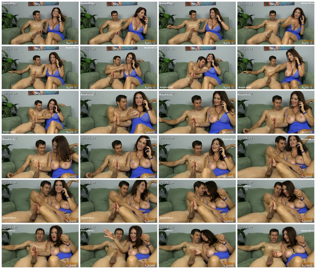 Giving Hubby a Handjob While Talking to My Boyfriend - Charlees Adventures - Charlee Chase_scrlist