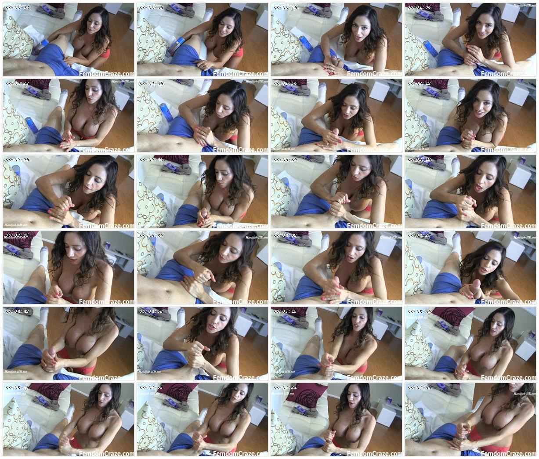 Jerked off by busty Ariella – Femdom Craze_scrlist