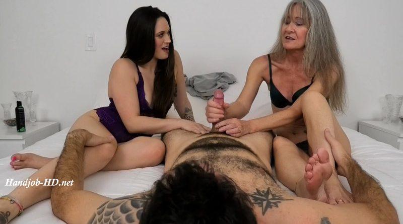 Step-Mom Helps With A Handjob – Dacey Harlot, Leilani Lei