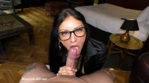 Therapist Licks Your Throbbing Cock To Cure Your Fetish – Cassie Clarke