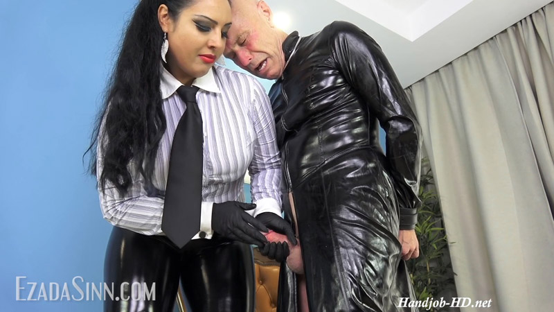 Too aroused in My old vinyl clothes – Mistress Ezada Sinn