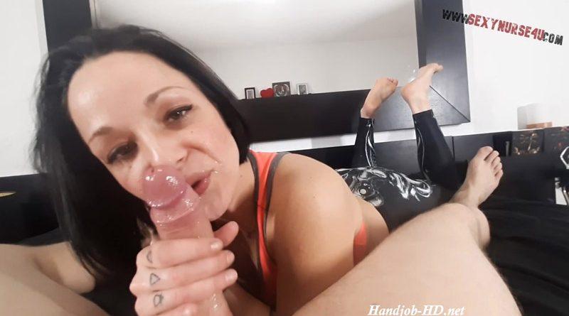 Blowjob Edging & Cumshot – Sexynurse4u