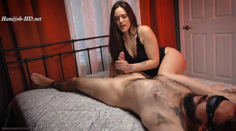 Bound, Tease, Orgasm – SilverCherrys Handjobs With a Twist – Dacey Harlot