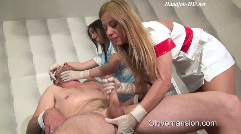 Double Dentist Handjob – GloveMansion