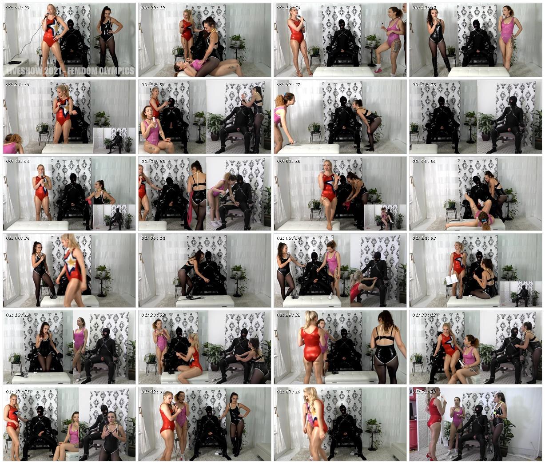 Femdom Olympics Liveshow - Mandy Marx, Lucid Lavender, Allie Heart_scrlist