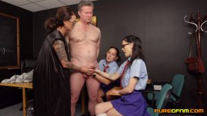 Owned By Students – Pure CFNM – Belle O'Hara, Jordanna Foxx, Shay London