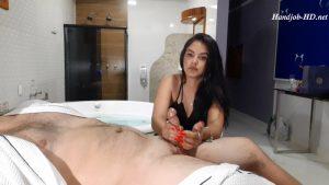 Sharon handjob ruined orgasm – Hand&feet