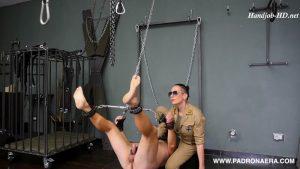 Suspended Handjob: Military Style – Padrona Era