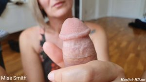 Handjob in hotel room next to the window – Miss Smith