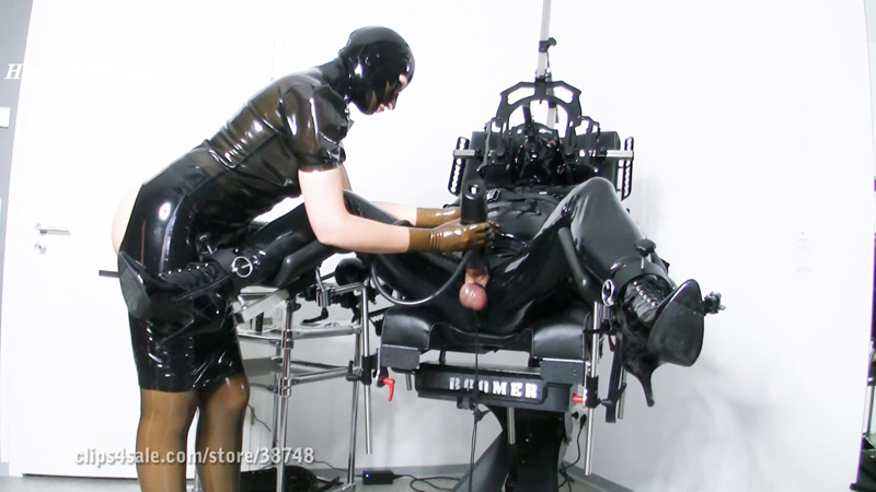 Heavy Rubber Fuck Machine – My Slave HD Femdom Videos
