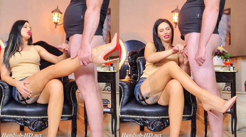 Milked on My stockings. CEI for My pleasure – Glamy Anya