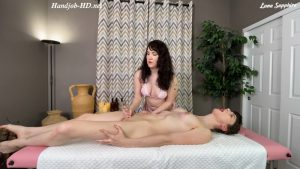 Sensual Trans Handjob Massage – Luna Sapphire