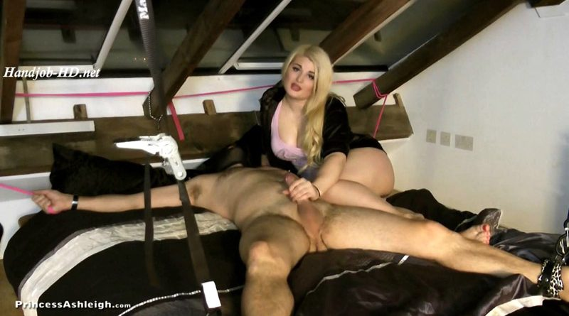 24 hours of Tease And Denial – Part 1 – Princess Ashleigh