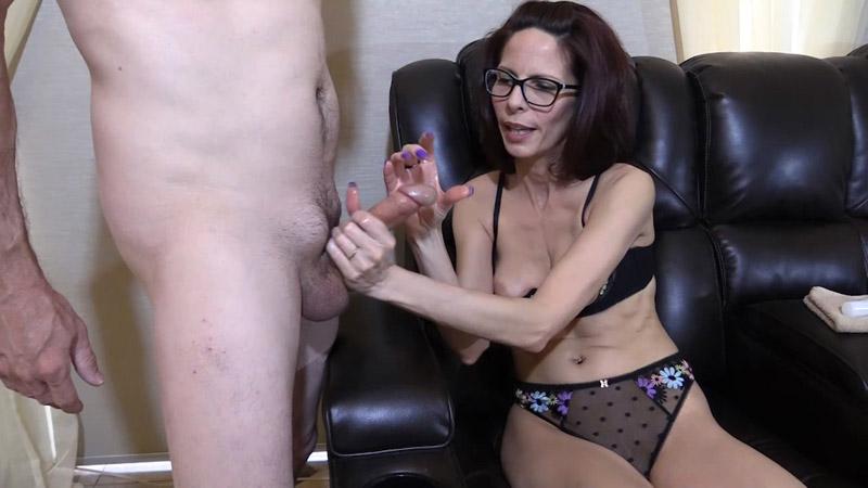 Cum on My Glasses Handjob – Wife Crazy Clip Store