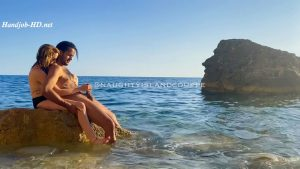 Handjob at our secluded nude beach – Naughty Island Couple