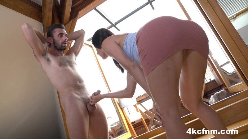 Hard Stroking For His Big Dick – 4KCFNM – Victoria Daniels